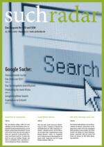 suchradar Magazin Ausgabe 22