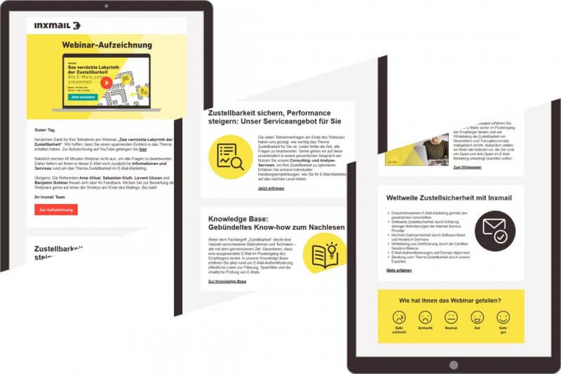Follow-up-E-Mails im B2B nach Webinar